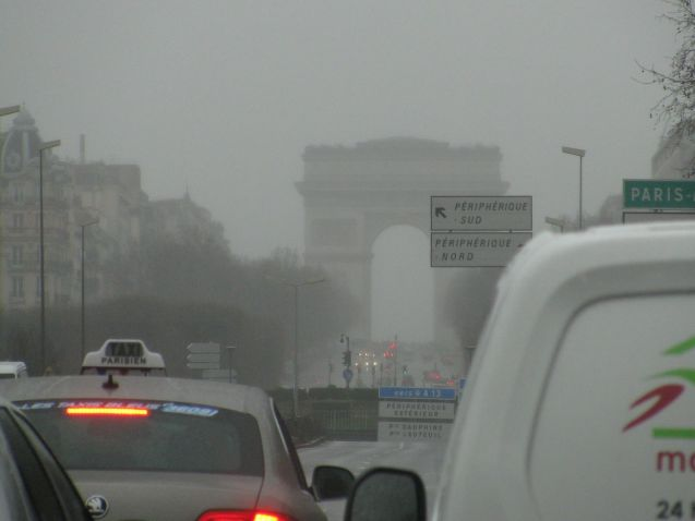 Paris, four days, 570 miles, March 2015. A routine city break staying further up the Champs Elysee from the Arc de Triomphe in 'business-oriented' La Defense. Occupied ourselves with a recreation of the notorious 'Rendezvous'.