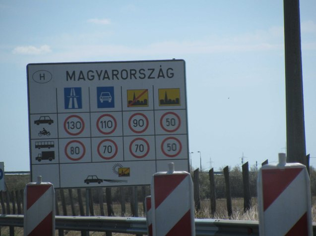 The Hungarian government will press on with its e-toll system regardless (Magyarorszag is Hungarian for Hungary)