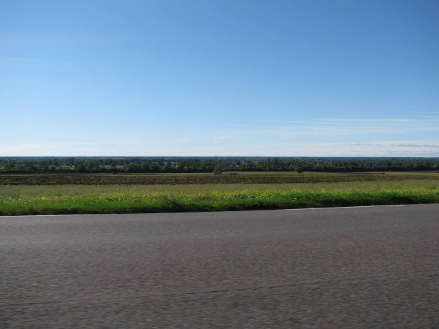 Central France, near Nevers, from Route National 7, September 2011