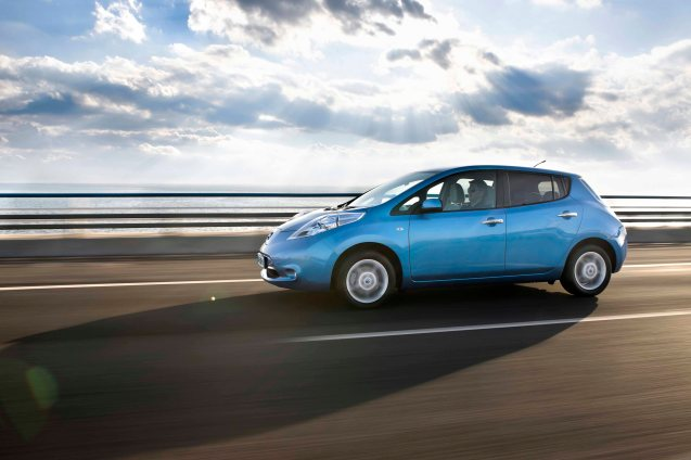 As expected, the price of the Nissan Leaf electric car has now been reduced by £2500, to £23,490, including £5,000 government incentive.