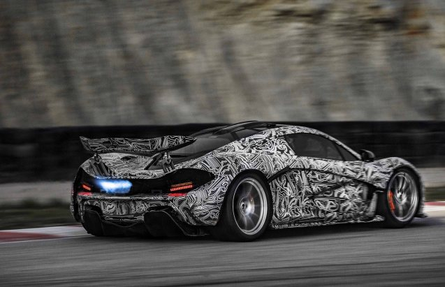 McLaren has released images of its new P1 megacar testing ahead of an expected reveal at March's Geneva Motor Show. Precise details on price, power and performance - and luggage space! - are still scarce. McLaren did say that the camouflage graphic is made of up racing circuits important to the company in its near 50 year history.