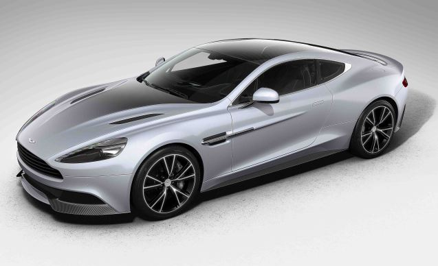Aston Martin has released Centenary Editions of its four model lines, limited to 100 examples of each.