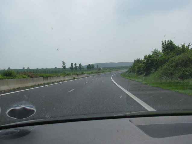 We're running out of Luxembourg photos... This is the A1 at xxxx, honestly.