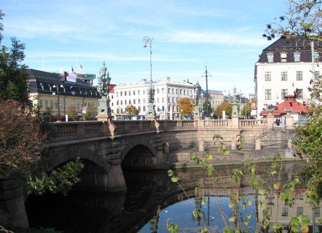 Central Gothenburg, October 2010