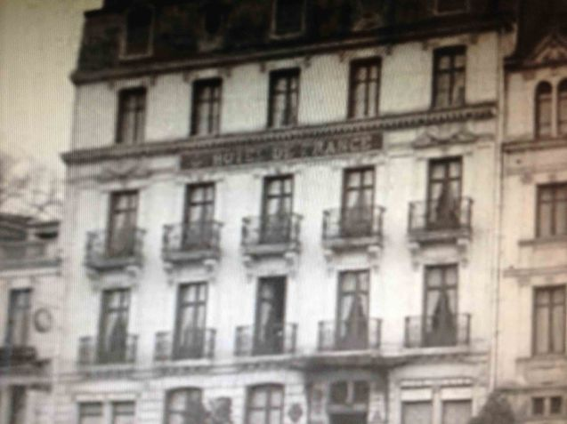The Hotel de France at Blois, still open today. © British Pathé