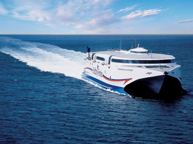 Brittany Ferries starts its high speed Portsmouth-Le Havre service in May.