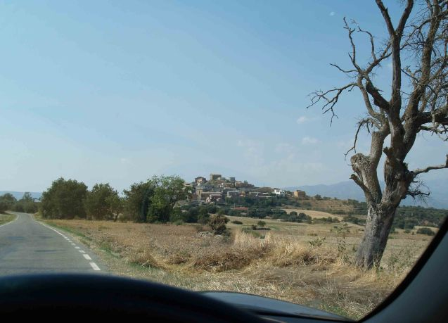 A Spainish road (from the C-14 in Catalunya).