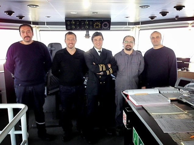 The Captain and crew of IDO ferries Kanuni Sultan Süleyman. You didn't think the Consul-general would schlep it out in the public lounge did you? IDO is part-owned by Stagecoach boss Sir Brian Souter since its privatisation in 2011. As ever with Sir Brian - a long time investor in Turkey - the deal wasn't without controversy. A price hike saw a rival start up last year (www.IstanbulLines.com) on what were thought to be IDO-exclusive routes. Still, one-way two+car Yalova-Istanbul is under £15.