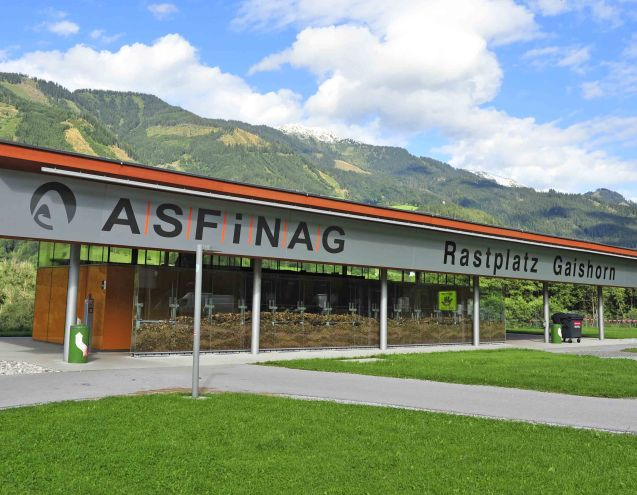 State owned ASFINAG rest stop toilets will still be free.