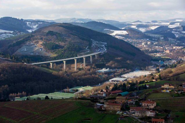 A89-Secteur Rhône et Loire-Photographies Aériennes-Décembre2012- France