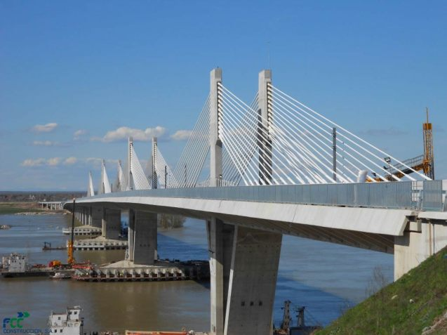 The mile long Danube 2 bridge will be opened on 9 May 2013 (Europe Day) by European Commission president Jose Manuel Barroso. First discussed in the 1960s, first works started in 2002, the bridge is only the second fixed link across Romania and Bulgaria's 280 mile Danube border.