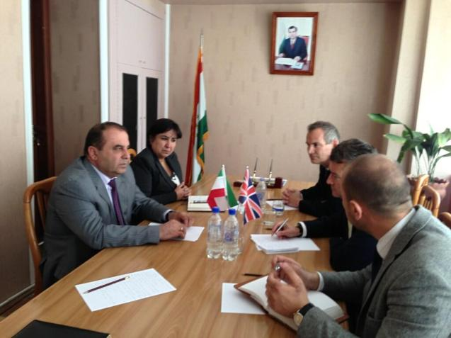 Tajikistan was devastated by a civil war after the collapse of the Soviet Union but since 1997 has been at peace. Deputy Governor of Khudzand tells HMA Dushanbe and me region grew 8.2% in Q1 2012 and the country by 7%.