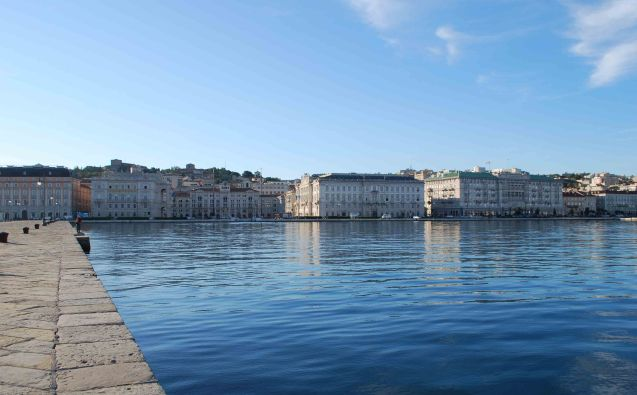 The Trieste waterfront