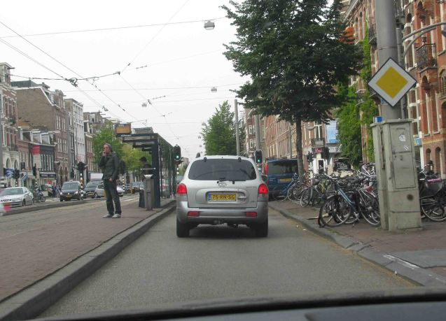 Just to be clear, we didn't go to Amsterdam to take photos of bike