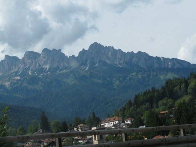 some mountain groups have romantic names like vvv and vvv. Some of them have silly names, like here: Marmolada.