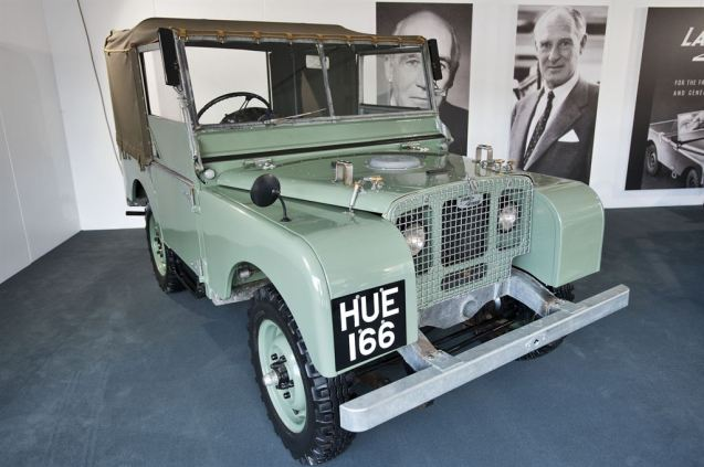 First built to replace the American 'Willy's Jeep' used by designer Maurice Wilk on his land in Anglesey. The first sketch was made in the sand on Red Wharf Bay.