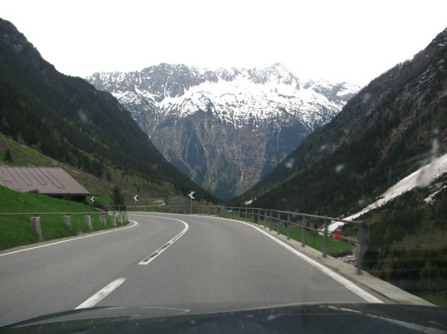 The Gotthard Pass. Why pay to drive on Switzerland's motorways when the back roads are so pretty?