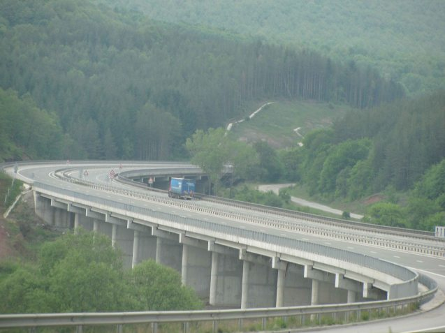 The Struma link highway to the Sofia Ring Road.