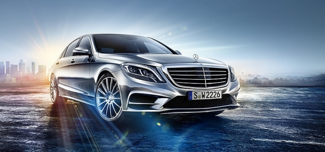 The brand new Mercedes-Benz S-Class, revealed accidentally on the company's Austrian website, now removed, but not before BlogAutomobile.fr got their hands on it.