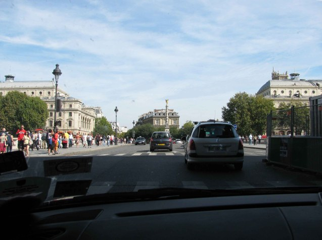 Driving in Paris: daunting but not dangerous. Make the most of it while you still can.