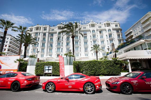 Yes you Cannes: Seventy glamorous, fashionable, rich - and, obviously, adventurous - women drove a collection of 35 very red, exotic sports cars 1,700 miles from Barcelona to Rome this week. Sponsored by Bentley, Maserati, Roberto Cavalli and Valentino among others. More on this soon.