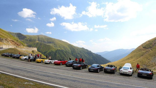 Where next? Last year's Porsche Performance drive was from Istanbul to Budapest, including the unsurpassable Transfagarasan in Romania (above). As for next year we've no idea. There are no clues on the website, performance-drive.porsche.com. Best try your local Porsche dealer.