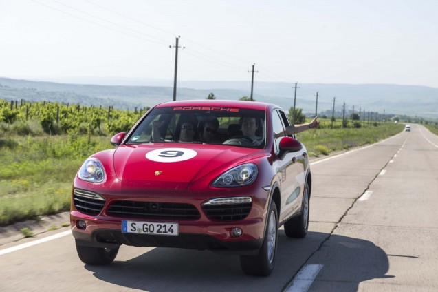 The first leg is 300km to the Ukraine border with three hours allocated.