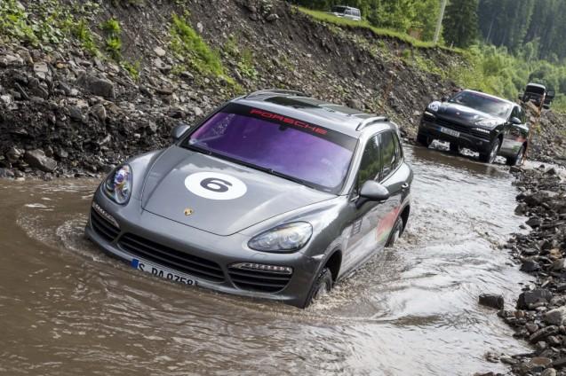 ...wading...