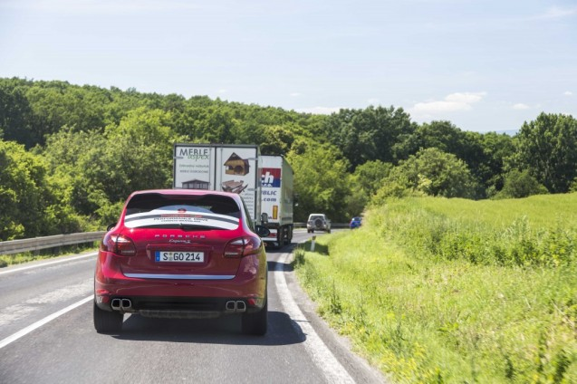 Day Five. The 383km from Katowice to Bratislava is a gentle hop. Or it would be.