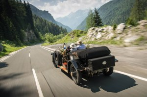 Forty eight Rolls Royce Silver Ghosts, including one of the modern incarnation, have set off on the recreation of the 1913 Alpine Trial. Currently in Austria, having already tackled the 27% Katschberg Pass, the cars will no proceed to Italy and Slovenia. Keep up to date with the action via the links above.