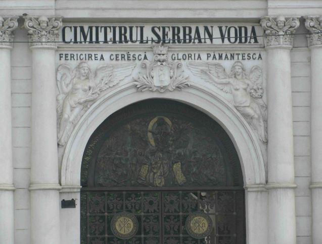 The Bellu Cemetery, Calea Serban Voda (E70/85).