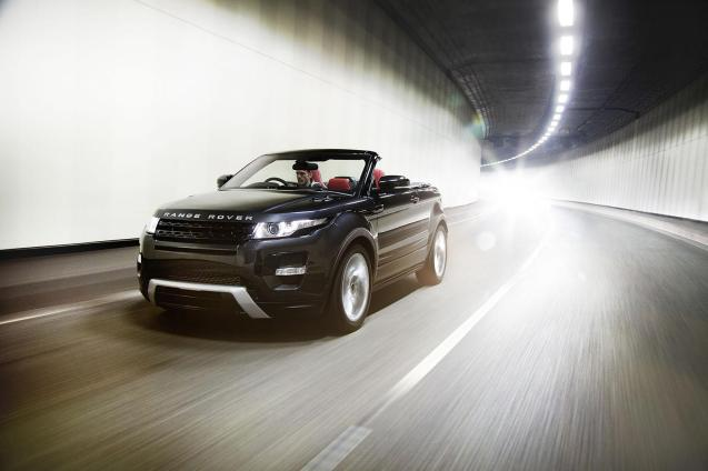The Range Rover Evoque convertible has not been canned according to worldcarfans.com. LR brand director John Edwards is quoted telling a recent meeting in Australia that the possibility is back on the cards. A decision is apparently imminent. LR showed a concept Evoque drop top at the March 2012 Geneva Motor Show but it was widely reported to have been cancelled in April 2013, possibly in the face of dire sales of the Nissan Murano convertible in America. An Evoque convertible has undoubted 'Essex appeal', but as a compact, good looking, high-riding 4x4 – and additionally open to the elements – it makes a good case for being the only car anybody could ever need. We want one.
