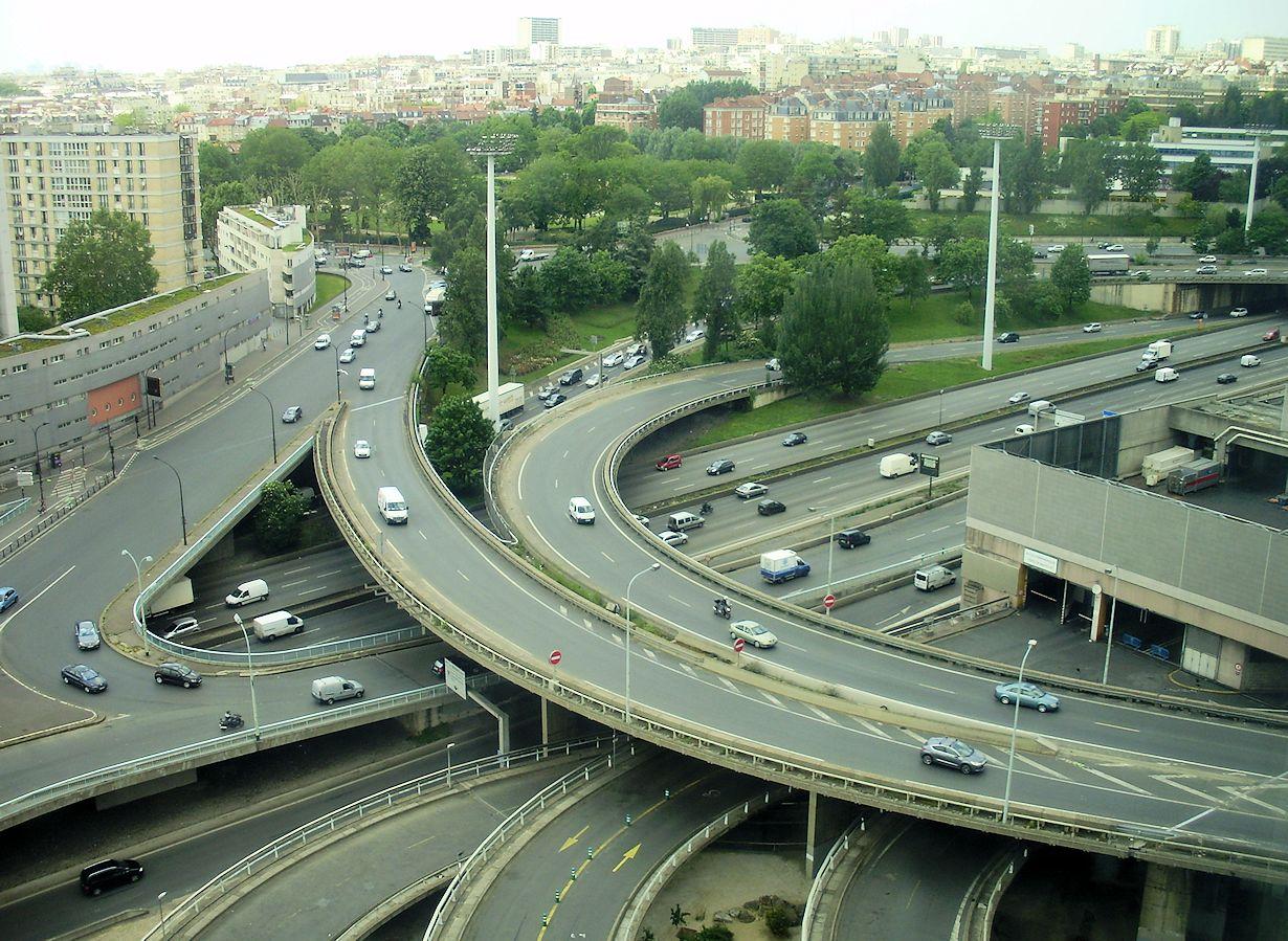 Peripherique speed limit cut air quality or road safety - Porte peripherique paris ...