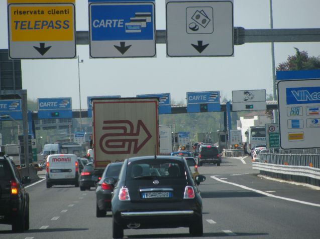 Italian motorways likely to be very crowded from 2-4 August.