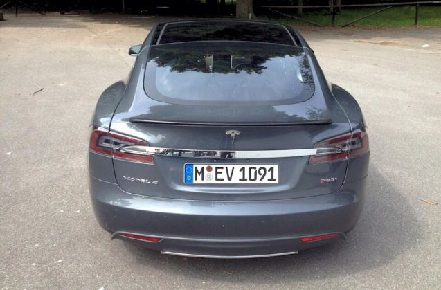 The first Tesla Model S Performance Plus is finally heading to the UK.