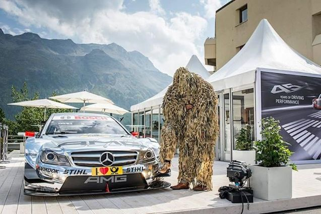 Mercedes-Benz, Modern Art and St Moritz.
