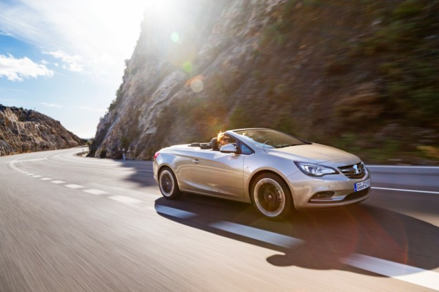 Vauxhall's pretty Cascada convertible has been empowered with an Autobahn-busting 146mph top speed thanks to its new 197bhp 1.6 litre petrol engine.