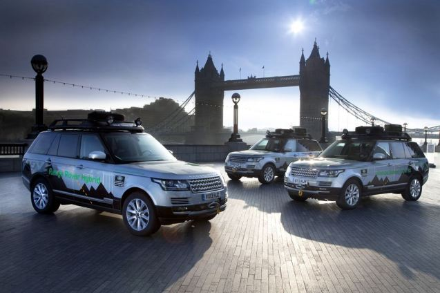 Range Rover on the Silk Routes. The brand new Range Rover Hybrid is being put through a near 10,000 mile endurance test from the UK to India, part of the vehicle's final development ahead of deliveries early next year. Three examples set off from the company's base at Solihull on 22 August. As of today they have covered 1,885 miles and are on route from Krakow, Poland, to Odessa, Ukraine. The trip takes in twelve countries, including Uzbekistan, Kyrgyzstan, China and Nepal.