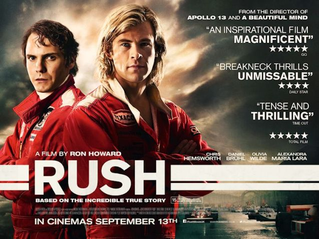 The most hotly anticipated film of 2013 for petrolheads  - Rush - is due out in nearly a month!