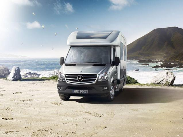 What do you make of campervans? Honestly, it's only a matter of time for us. But which one? Ideally it'd be a sportscamper 911 with pull out beds in the back, power shower and heated loo seat but in the absence of that, or anything like it, what about the Mercedes New Sprinter?