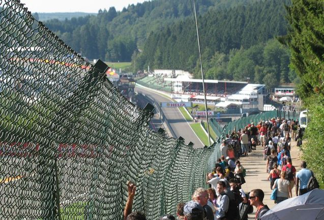 If you want a view of Eau Rouge and Raidilon from the cheap seats you can get it though you have to crane.