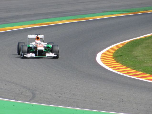 Di Resta was just throwing himself infront of the camera all weekend.