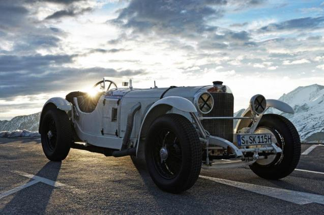 With Walter Rohrl as Ambassador, and some historic cars due - like this 1928 Mercedes SSK - the International Edelweiss Mountain Award Rossfeld Berchtesgaden hill climb should be quite an event. It's run on the 16km German Alpine Road – or Rossfeld Panoramastrasse – between Lakes Constance and Konigsee, from 27-29 September. See www.rossfeldrennen.de/en/ for more information or, for the road itself, see www.rossfeldpanoramastrasse.de/en/