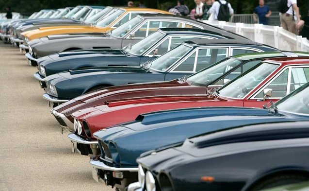 Random: assorted Aston Martins