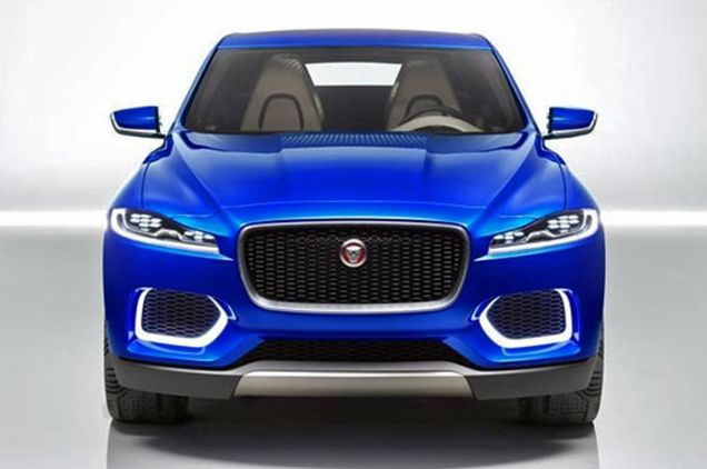 Jaguar C-X17 concept SUV, supposedly not revealed until next week. This picture leaked online last night and as far as we know hasn't been