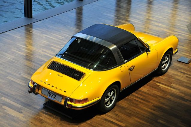 The new 911 Targa. Going back to its roots.