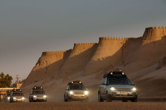 The Range Rover Hybrid Silk Trail expedition is by now deep into Central Asia.