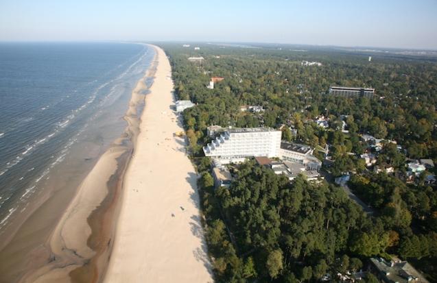 The Baltic Beach Hotel, Jurmala, Latvia.
