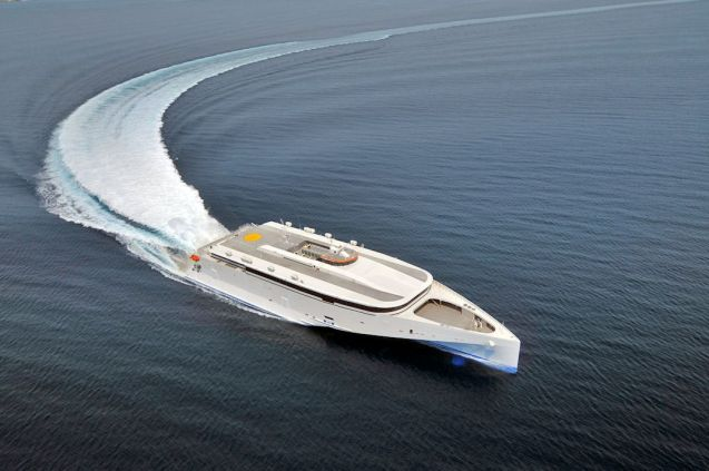 All being well, this is Condor Ferries' new boat: