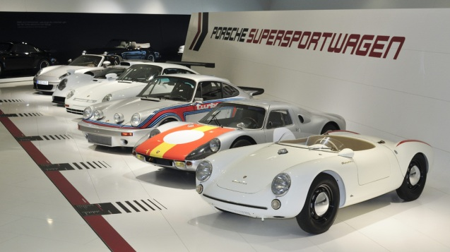 So you've been to the Porsche Museum.